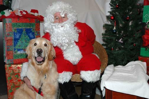 Me and Santa Paws